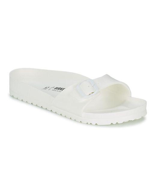 Birkenstock | Madrid Eva Men's Mules / Casual Shoes In White for Men | Lyst