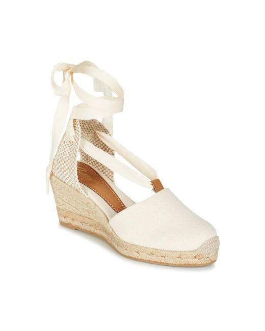Betty London - Natural Granda Women's Sandals In Beige - Lyst