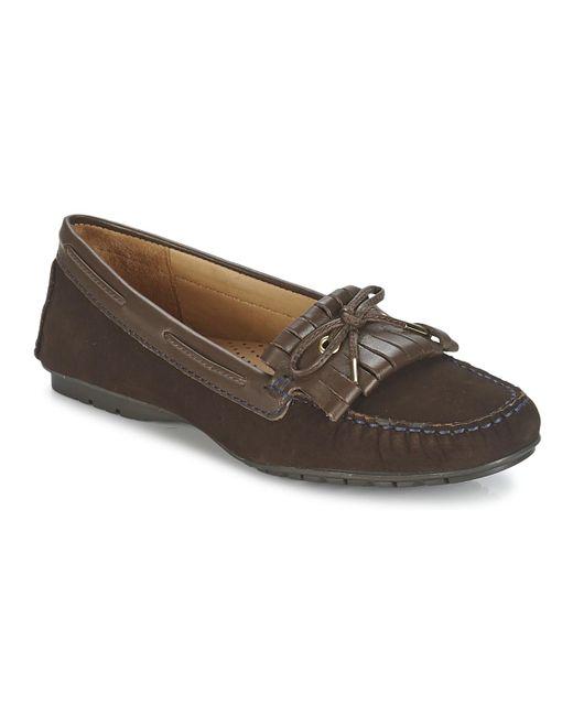 Sebago   Meriden Kiltie Women's Loafers / Casual Shoes In Brown   Lyst
