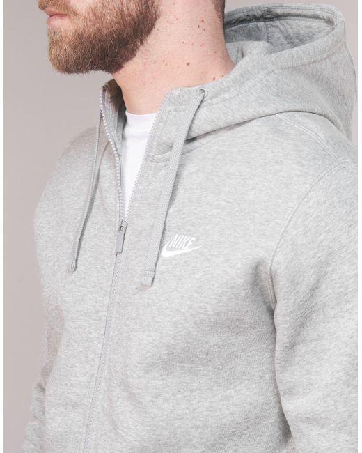 ce4d2a9f ... Lyst Nike - Gray Men's Sportswear Hoodie Sweatshirt for Men ...
