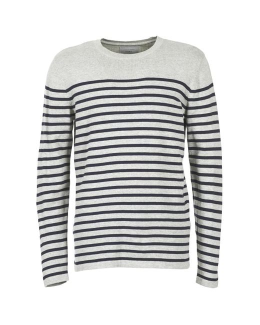 Jack & Jones | Gray Andy Core Men's Sweater In Grey for Men | Lyst