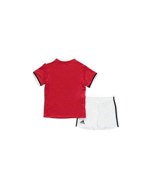 0bc831177 Adidas 2017-2018 Man United Home Baby Kit (giggs 11) Girls s In Red ...