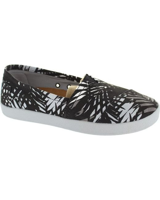 TOMS | Avalon Sneaker Women's Loafers / Casual Shoes In Black | Lyst