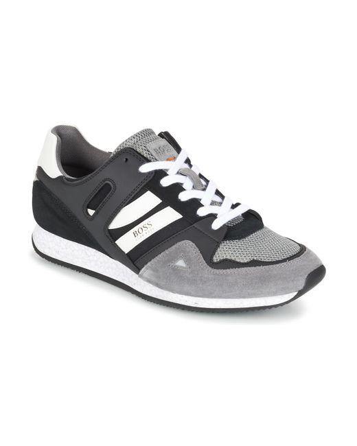 BOSS Orange | Gray 50330332 Men's Shoes (trainers) In Grey for Men | Lyst