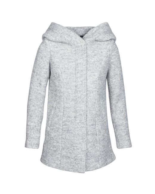 Vero Moda - Gray Vmverodona Women's Coat In Grey - Lyst