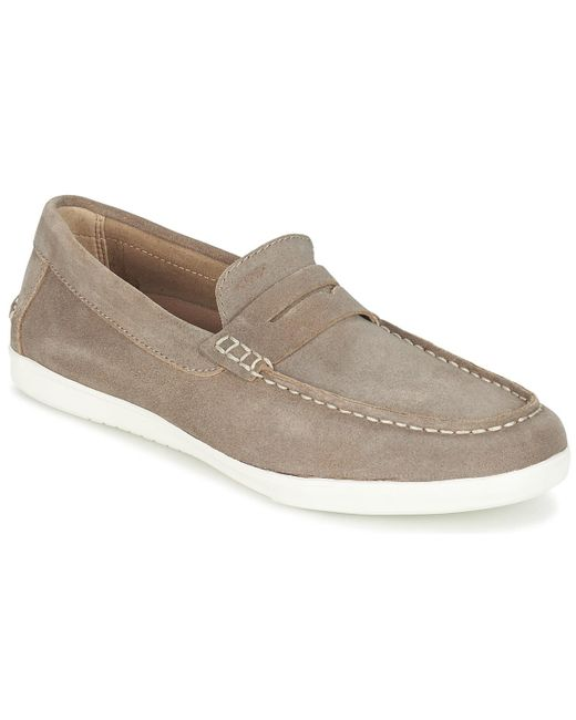 Geox | U Walee C Men's Slip-ons (shoes) In Brown for Men | Lyst