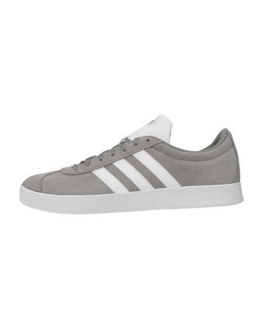 wholesale dealer 849e3 3f928 adidas Vl Court 2.0 Men s Shoes (trainers) In Grey in Gray for Men ...