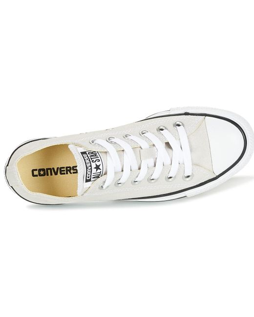 9b7480e207e363 ... Converse - Gray Chuck Taylor All Star Seasonal Color Ox Seasonal Color  Ox Pale P Men s ...