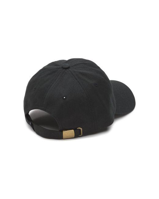 the best attitude 4c66f 9deaf lyst vans curved bill jockey hat black ... 67ce1261f4f3