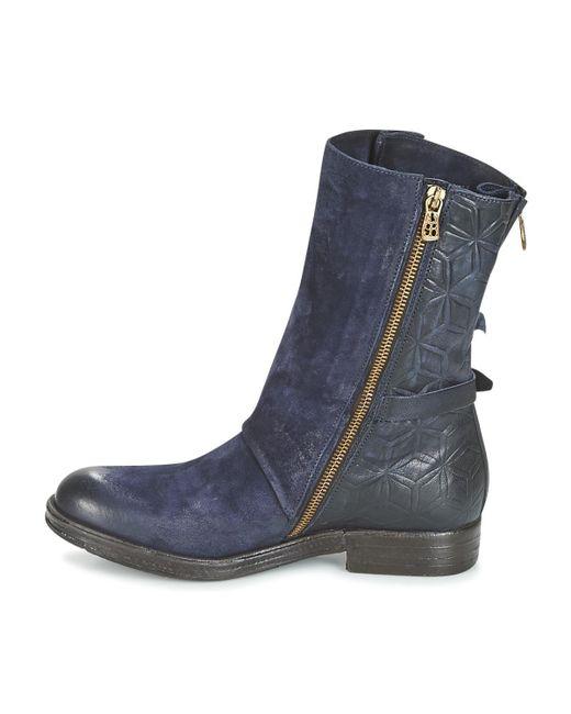 ... Airstep   A.S.98 - Blue VERTI femmes Boots en bleu - Lyst ... 03fe0860be1