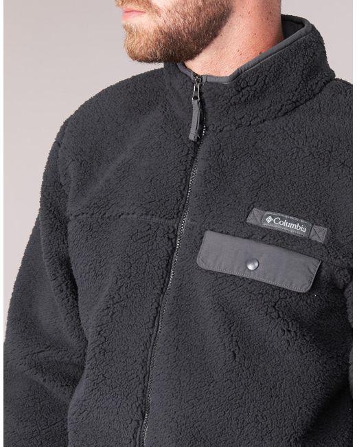 52652ef5a8e ... Columbia - Mountain Side Heavyweight Fleece Zip Men s Fleece Jacket In  Black for Men ...