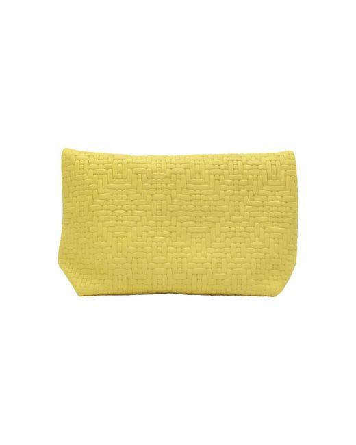 54c3640734 ... Ripauste By Paul Stephan - Yellow Pochette en cuir medium femmes Sac à  main en jaune ...