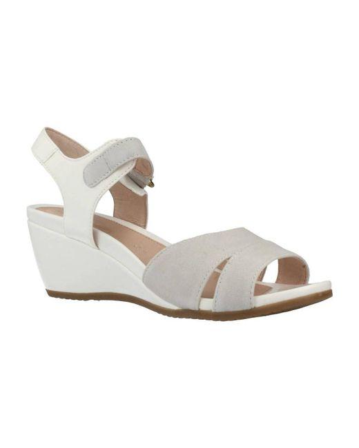 Stonefly - 106308 Women's Sandals In White - Lyst