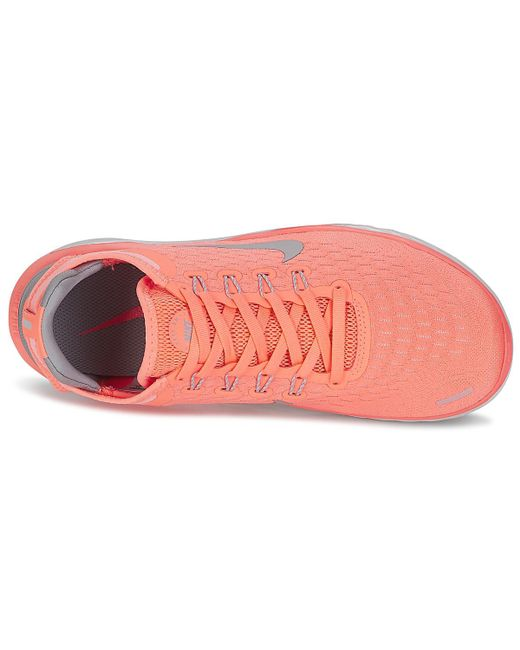 559d7fb473d3 ... Nike - Pink Free Rn 2018 W Running Trainers - Lyst ...