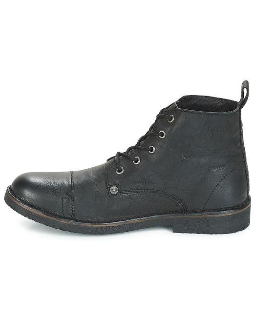 cb330da4ec2000 TRACK hommes Boots en Noir Levi's pour homme en coloris Noir - 4 ...