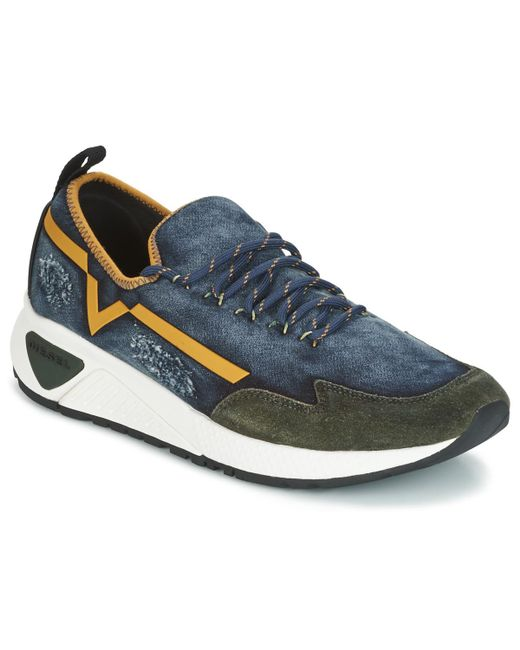 DIESEL | S-kby Men's Shoes (trainers) In Blue for Men | Lyst