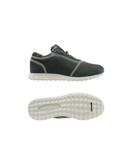 lyst adidas los angeles scarpe da uomo (formatori) in bianco in bianco.