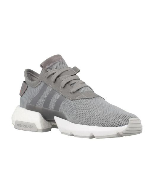 check out f0d26 2f678 ... Adidas - Gray B37365 Pod-s3.1 Men s Shoes (trainers) In Grey ...