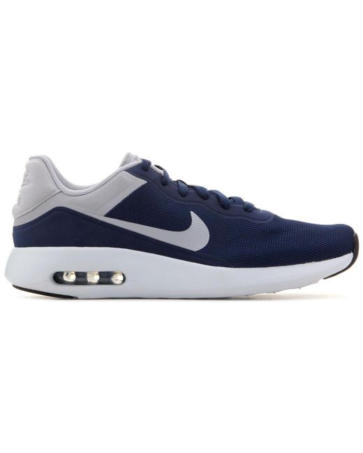 Mens Air Max Modern Essential 844874 402 Men's Shoes (trainers) In Blue