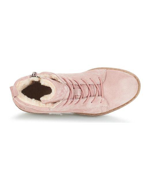 39a130eaa4e591 IMAN femmes Chaussures en rose Tamaris en coloris Rose - Lyst