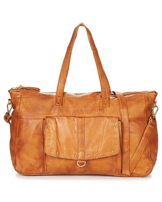 Pieces | Nadeen Women's Shoulder Bag In Brown | Lyst