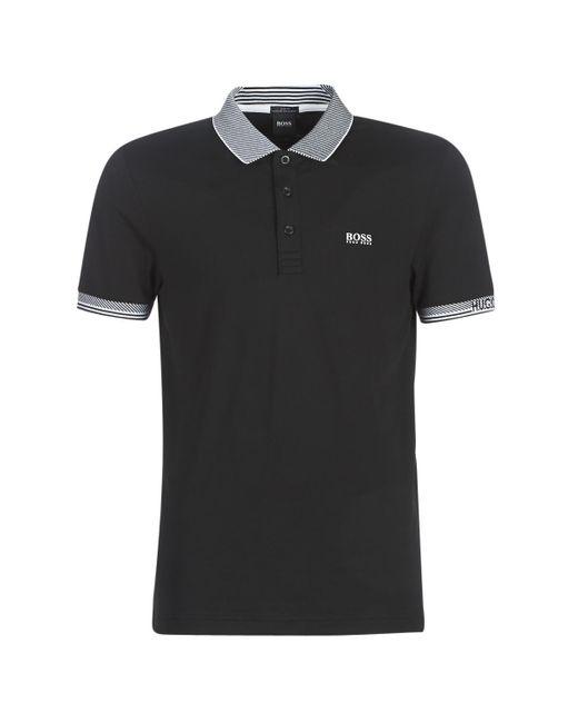 BOSS Black Paule Polo Shirt for men