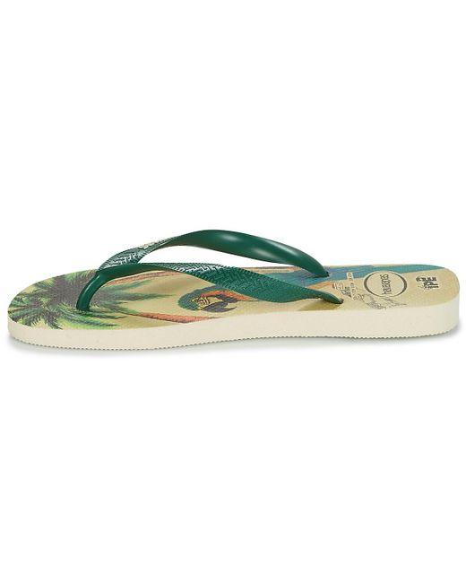 11e06238a ... Havaianas - Ipe Men s Flip Flops   Sandals (shoes) In Green for Men ...
