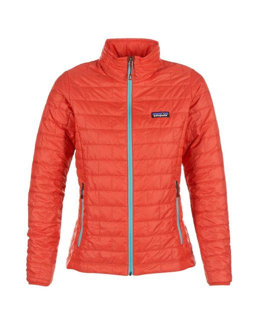 Patagonia - Nano Puff Jkt Women's Jacket In Red - Lyst