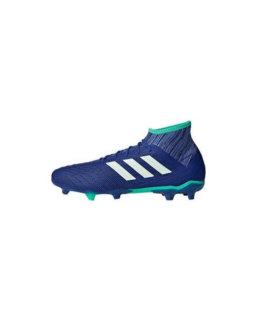4cf309ae5 ... usa adidas predator 182 fg mens football boots in blue for men lyst  695d3 f3b0a