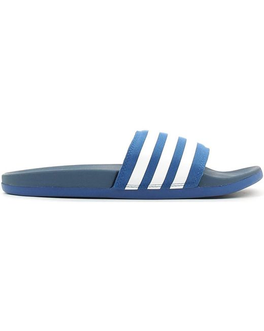 Adidas | Aq4936 Sandals Man Blue Men's Mules / Casual Shoes In Blue for Men | Lyst
