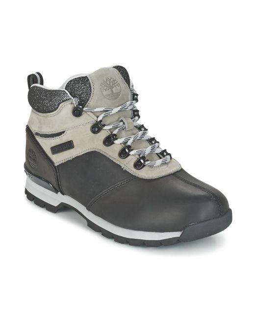 Timberland - Splitrock 2 Men's Mid Boots In Black for Men - Lyst