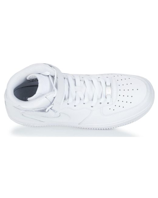 d4377b01866 ... Nike - Air Force 1 Mid 07 Leather Men s Shoes (high-top Trainers) ...