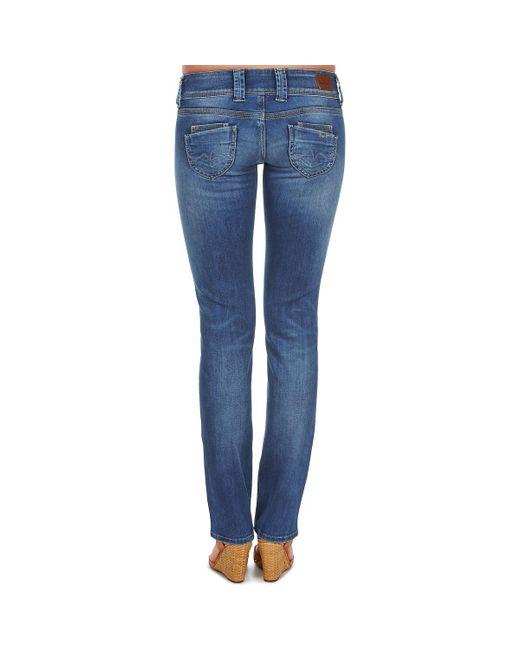 Pepe Jeans Venus Women s Jeans In Blue in Blue - Lyst cafd14c9b2