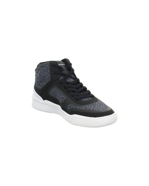 7078da5af6051a ... Lacoste - Explorateur Spt Mid Men s Shoes (high-top Trainers) In Black  for ...