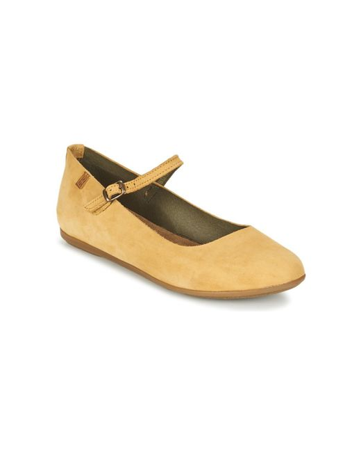El Naturalista | Natural Stella Women's Shoes (pumps / Ballerinas) In Beige | Lyst