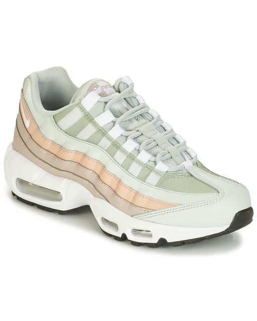Nike Air Max 95 W Women s Shoes (trainers) In White in White - Lyst c4c9b29507