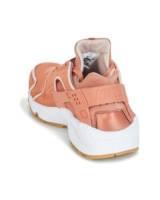 best loved fe1aa da270 ... Nike - Air Huarache Run Premium W Women s Shoes (trainers) In Pink ...