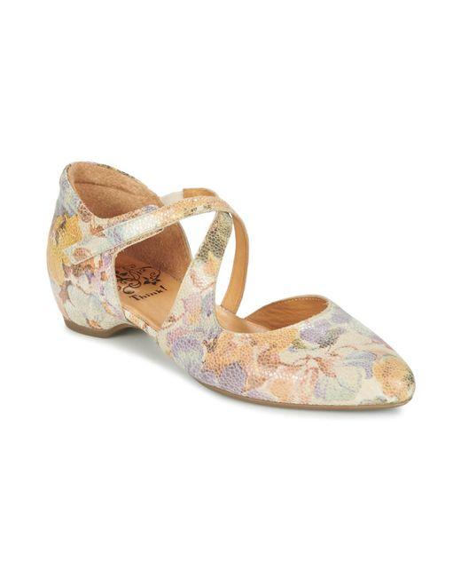 Think! - Natural Imma Women's Sandals In Beige - Lyst