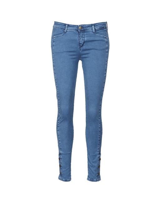 Acquaverde | Alfie Women's Skinny Jeans In Blue | Lyst