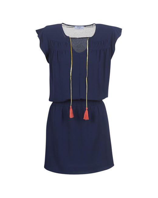 Betty London - Innatimba Women's Dress In Blue - Lyst