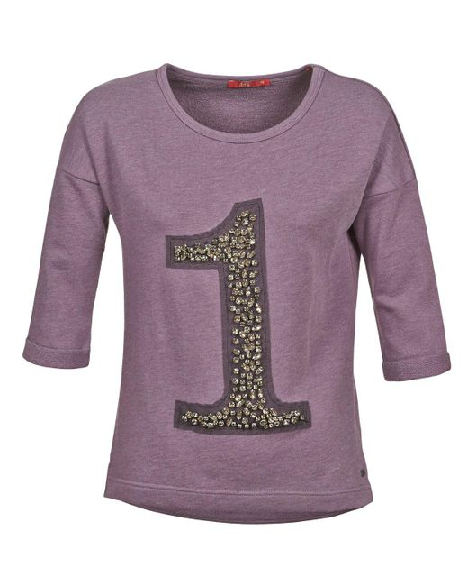 Esprit - Dirari Women's Sweatshirt In Purple - Lyst