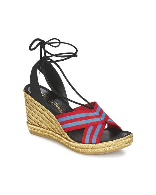 Marc Jacobs | Multicolor Dani Women's Sandals In Multicolour | Lyst