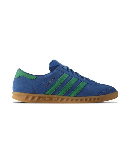 Adidas Originals | Hamburg Men's Shoes (trainers) In Green for Men | Lyst