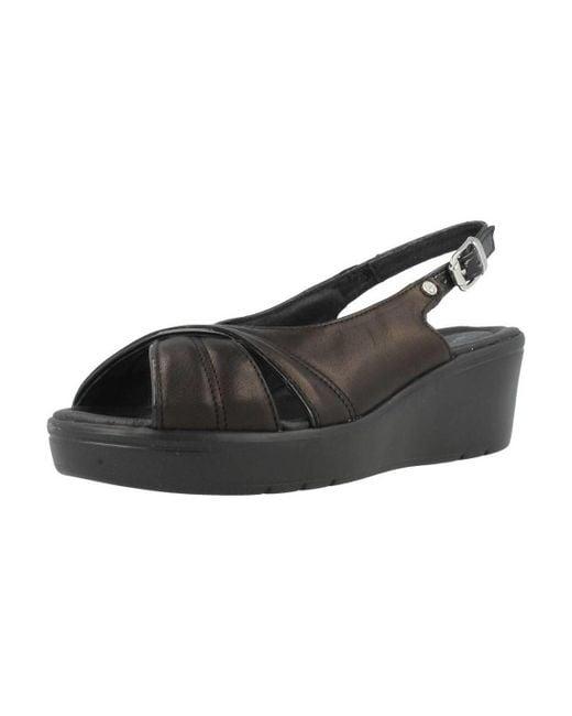 Stonefly | Tess 3 Women's Sandals In Black | Lyst