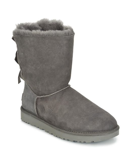 c9e3c8a8210 Gray Bailey Bow Ii Women's Mid Boots In Grey
