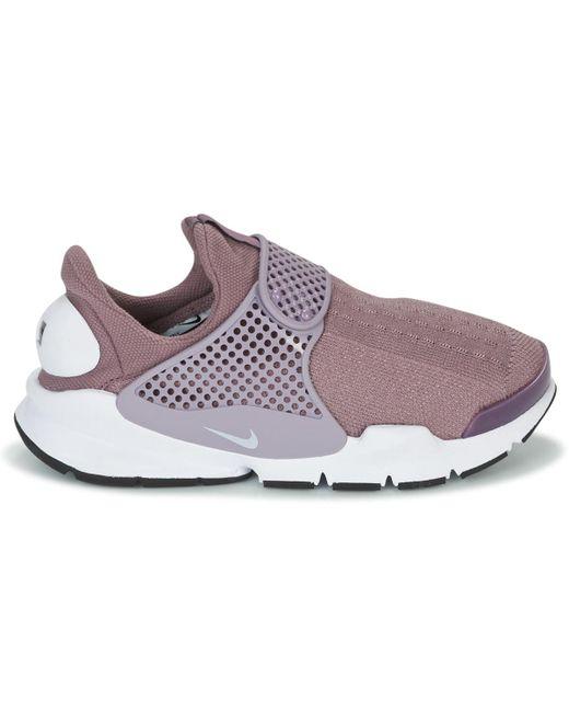 509a95d14cf Nike Sock Dart W Women s Shoes (trainers) In Grey in Gray - Lyst