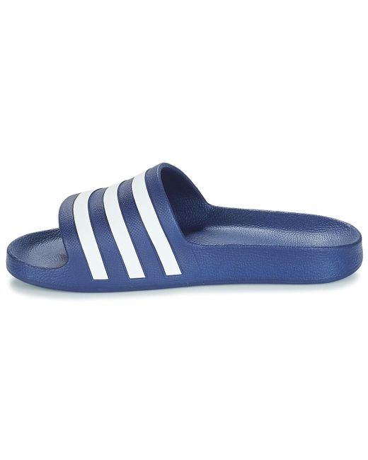 b161043cc1ee2f adidas Adilette Aqua Men s In Blue in Blue for Men - Lyst