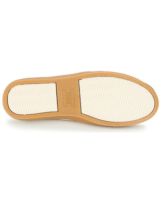 0449fcfe4ea ... TOMS - Natural Paxton Slip-ons (shoes) - Lyst ...