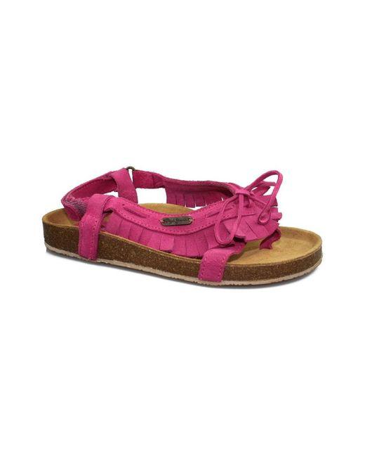 Pepe Jeans - Tassel Women's Sandals In Pink - Lyst