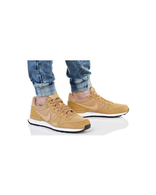 reputable site d188e b460e ... Lyst Nike - Internationalist Se Men s Shoes (trainers) In Brown for Men  ...